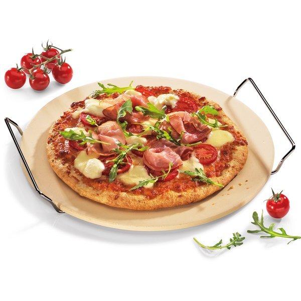 Küchenprofi Rund Pizzastein med stativ, 30 cm